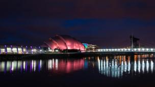 Armadillo by the River Clyde