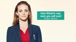 """""""Hear Britain's roar, soon you will soar!"""""""