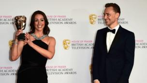 Suranne Jones and Tom Hiddleston