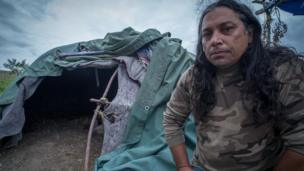 Hawste Wakiyan Wicasa believes the Native American standoff with Dakota Access is the last Great Indian War