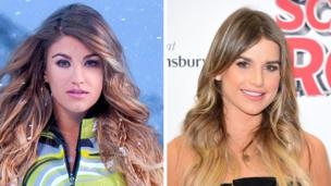 Amy Willerton and Vogue Williams