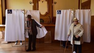 بالصور: الانتخابات الرئاسية في فرنسا