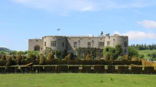 Chirk Castle, near Wrexham
