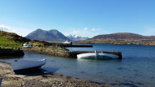 Old Raasay harbour