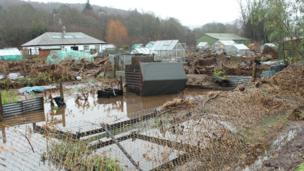 Flooded allotments