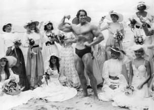 Arnold Schwarzenegger at Cannes