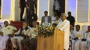 பிஹார் முதலமைச்சர் நிதீஷ் குமார் உரை