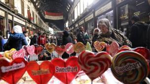 大馬士革舊城區的哈米迪亞大市場