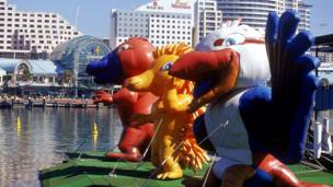 Mascots of the 2000 Olympic and Paralympic Games