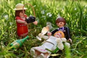 Playmobile photographer