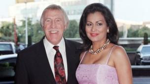 Bruce and Winelia Forsyth