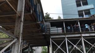 પરેલ-એલફિન્સ્ટન રોડ રેલવે સ્ટેશનને જોડતો પુલ