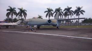 李顯斌將這架伊爾28型轟炸機從浙江杭州筧橋基地飛到台灣的桃園「起義來歸」