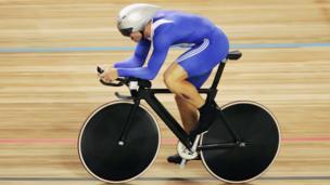Ciclismo de velocidad.