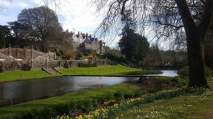St Fagans castle gardens, Cardiff