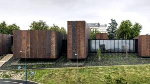 Soulages Museum, 2014, Rodez, Francia. en colaboración con G. Trégouët