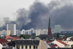 дим над містом