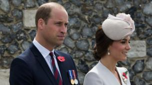 The Duke and Duchess of Cambridge also attended the ceremony