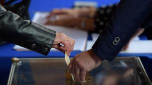 التصويت في الانتخابات الرئاسية في فرنسا