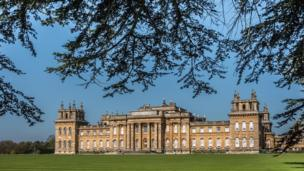 Blenheim in the sunshine