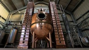 Oxford's first distillery opens