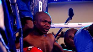 Gabriel Otieno akiwaza ni mbinu gani atatumia dhidi ya Fadhili.