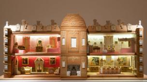 Manor made from gingerbread