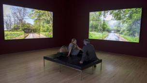 David Hockney's video installations