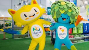 Mascots of the 2016 Olympic and Paralympic Games