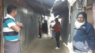 Rohingyas on the outskirts of Kathmandu