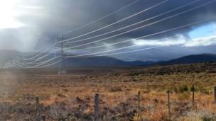 Beauly to Denny power line