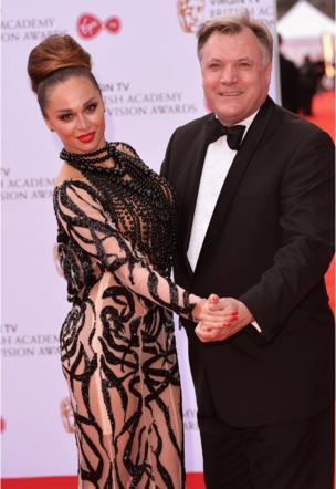 Katya Jones and Ed Balls
