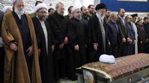 تشييع جنازة الرئيس الإيراني الراحل رفسنجاني