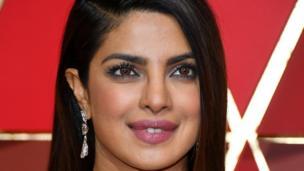 भारतीय अभिनेत्री प्रियंका चोपड़ा