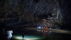 Dominic Chiu 給BBC讀者送來了韓松洞的內部世界