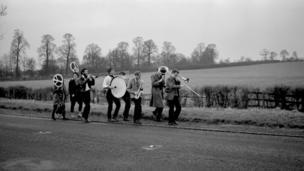Country band by John 'Hoppy' Hopkins in 1960