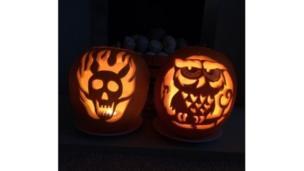 Ben and Sam's pumpkins