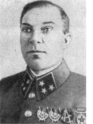 Комкор (впоследствии генерал-лейтенант) МИхаил Лукин, 1939 год