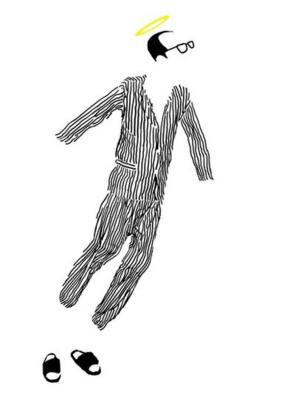 藝術家巴丟草的漫畫作品《一個自由的人》