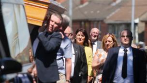 Seamus Ruddy funeral