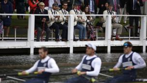 Visitors are expected to drink an estimated 25,000 pints of Pimms during the regatta.