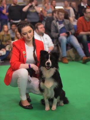 Rachel and Norma at Crufts 2016