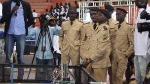 aspirants officiers Sénégal