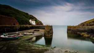 Porthgain Harbour in Pembrokeshire