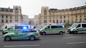 Police in Munich
