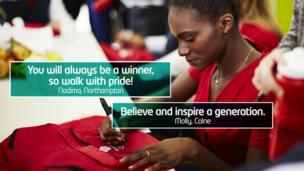 """""""You will always be a winner, so walk with pride!"""""""