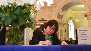 Deputy Lord Mayor of Belfast, Councillor Mary Ellen Campbell