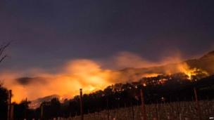 About 1,500 buildings have already been destroyed, the head of California's Department of Forestry and Fire Protection, Kim Pimlott, said.