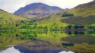 Loch Earn and Ben Vorlich