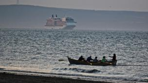 Boats on the Firth of Forth
